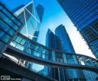 Gebäuden Büros Hong Kong