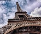 Eiffelturm in der Tag
