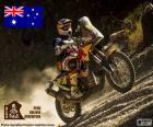 Toby Price pilot Australian 2016 Dakar-Motorrad-Weltmeister