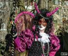 Karneval-Kleid Rosa