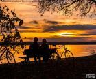 Sonnenuntergang in paar