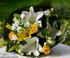Blumenstrauß für die Braut
