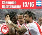 Olympiacos FC Meister 2015-2016