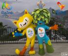 Vinicius und Tom sind die Maskottchen der Olympischen und Paralympischen Spiele Rio 2016