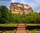 Der Sigiriya-Felsen, Sri Lanka