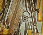 Tischler-Werkzeuge
