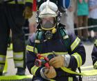 Feuerwehrmann-training
