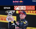 Max Verstappen, feierte seinen ersten Sieg in der Formel 1 die Großer Preis von Spanien 2016