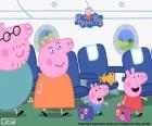 Urlaub Familie Peppa Pig