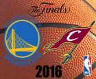 2016 NBA Finale. Golden State Warriors Vs Cleveland Cavaliers, die gleichen Finalisten der letzten Saison