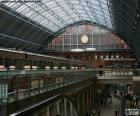 Bahnhof St Pancras, London