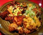 Koreanischen Stil Huhn