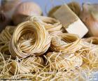 Italienische Pasta, spaghetti