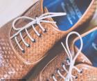 Schuhe Leder Mann
