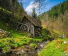 Mühle aus Holz