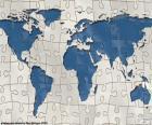 Der Welt-Karte-Rätsel