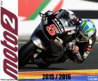 Johann Zarco, Weltmeister der Moto2 zum zweiten Mal in Folge von 2015 und 2016