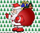 Santa Claus, Zeichnung