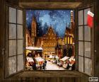 Weihnachtsmarkt, Fenster