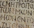 Alte griechische Schrift