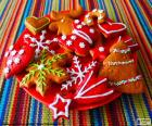 Hausgemachte Weihnachtskekse