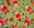 Papier von Weihnachtsmann