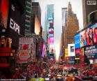 Times Square in New York puzzle
