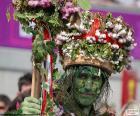 Grüner Mann, Karneval