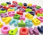 Alphabet in Spirale