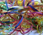Streamer für Karneval puzzle