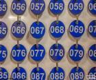 Nummerierte Platten