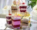Dessert tassen