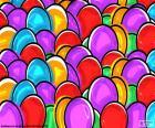 Zeichnung von Easter eggs