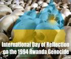 Tag des Gedenkens an den Völkermord in Ruanda 1994