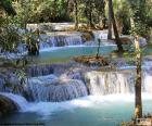 Kuang Si Wasserfälle, Laos