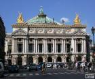 Opéra Garnier, Fassade