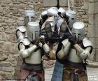 Verwundeten Ritter