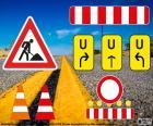 Signalen Baustellen-Schilder