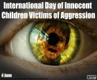 Internationaler Tag der unschuldigen Kinder als Opfer von Aggression