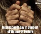 Internationaler Tag zur Unterstützung von Folteropfern