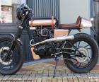 Personalisierte Motorrad