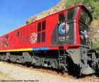 Zug der Anden von Ecuador