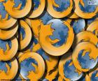 Mozilla Firefox-logo puzzle