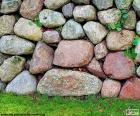 Garten Steinmauer