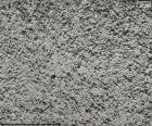 Grobe Betonmauer