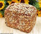 Brot der Sonnenblumen-Samen
