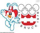 Olympischen Winterspiele Innsbruck 1976