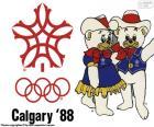 Olympischen Winterspielen 1988 in Calgary