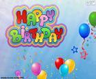 Happy Birthday zum Geburtstag