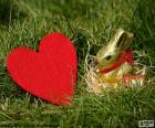 Herz und Osterhase